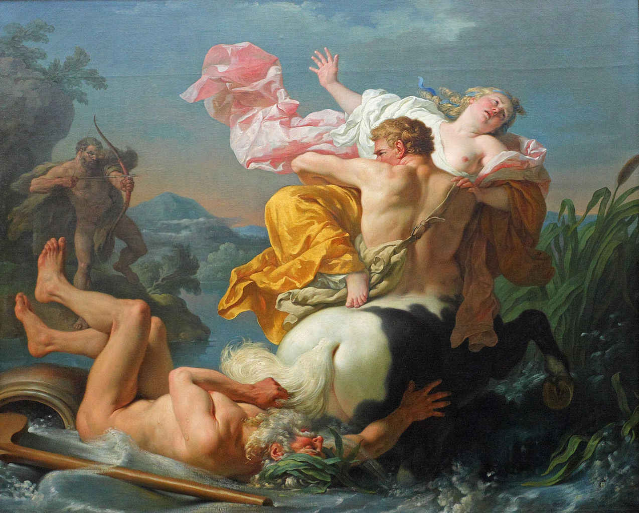 Louis-Jean-François Lagrenée: The Abduction of Deianeira by the Centaur Nessus